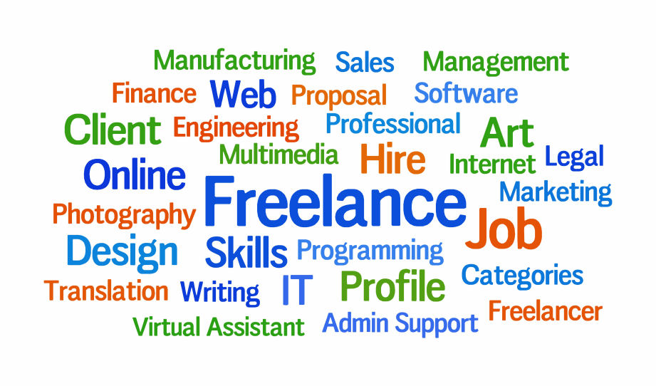 Freelancer type jobs