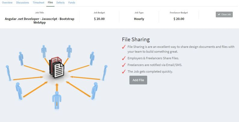 How to share files